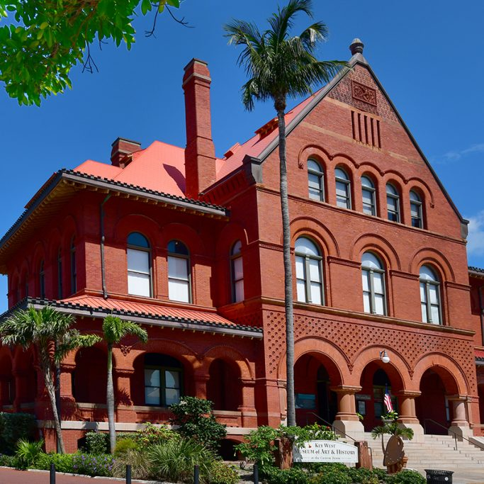 The Custom House now operates as the Key West Museum of Art & History