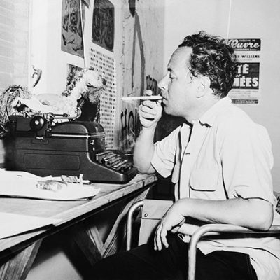 tennessee-williams-searches-for-an-idea-in-his-key-west-studio-in-1957-photograph-bettmanncorbis